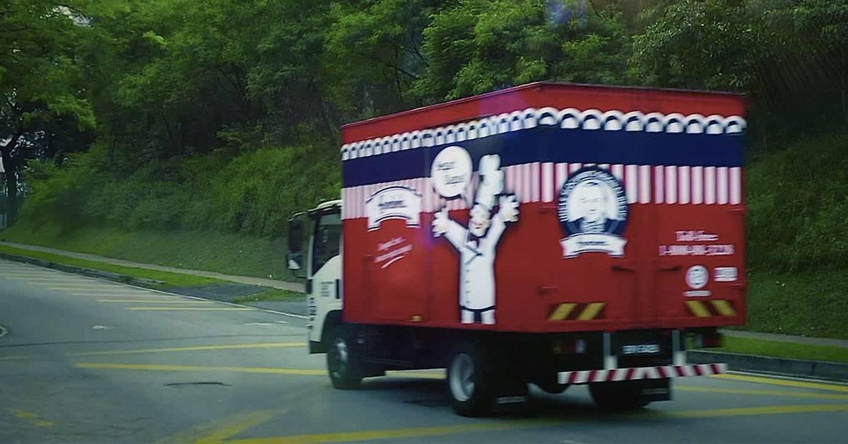行动限制令导致面包太值钱?惊爆Gardenia面包车被劫走!