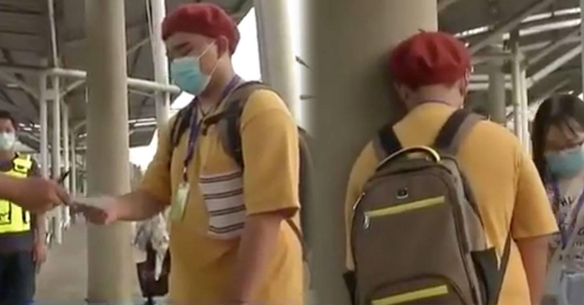 等KTM觉得鼻子痒把口罩拉下来!学生接RM1000的罚单爆哭!