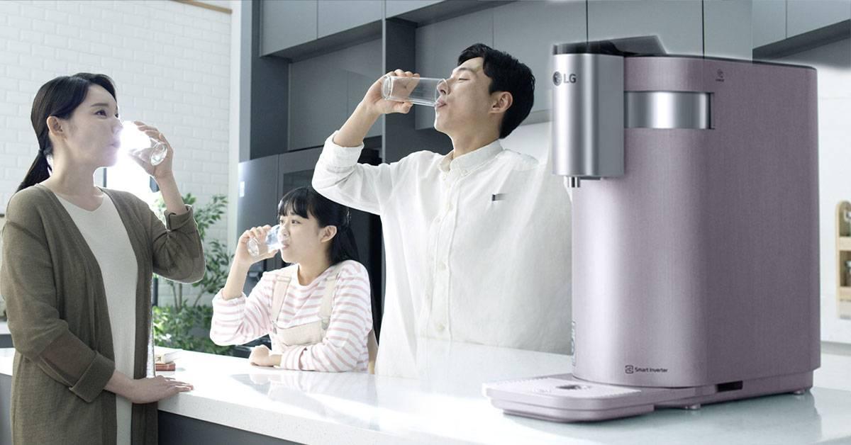 不喝千滚水!LG最新「无水箱净水机」解决全家饮水问题!LG PuriCare 4-WARD十大好处一次看!