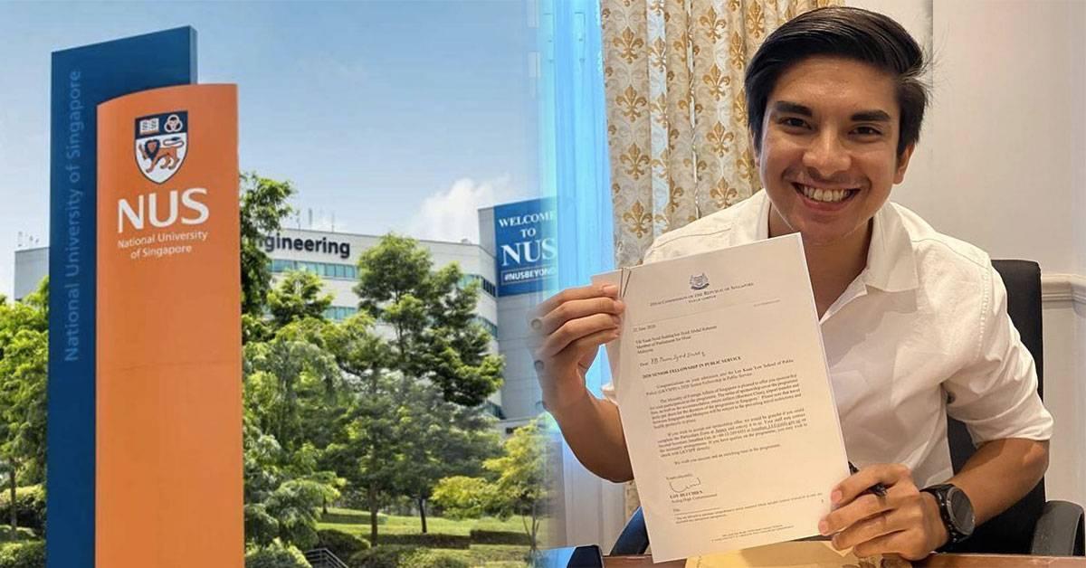 曾两度拒绝牛津大学!赛沙迪宣布被新加坡国立大学录取!硕士课程还是跟政治相关?