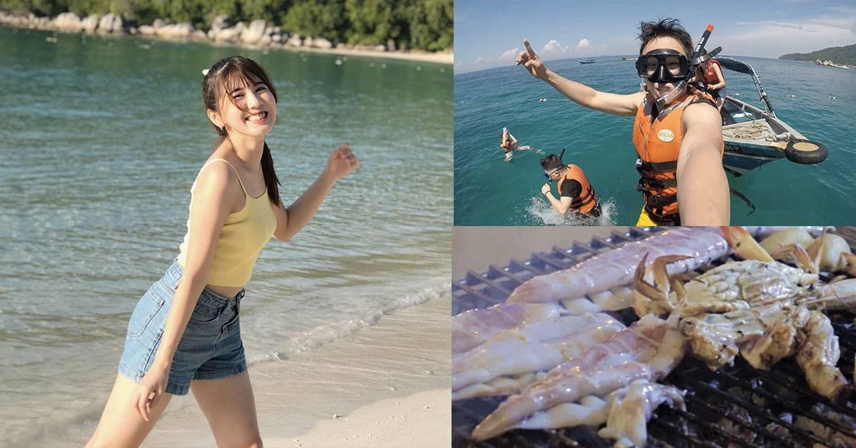 RM550在Pulau Perhentian玩3天2夜!GOXUAN DJ带你浮潜、森林探索、夜生活玩到尽!