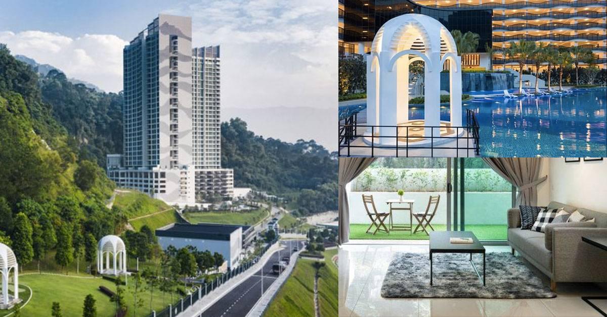 槟城最有潜质的精品公寓Eco Terraces!靠山背水、市区只需25分钟路程!