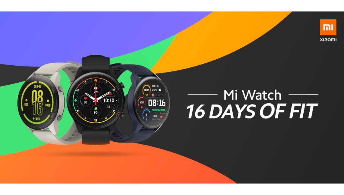 小米推出自家智能手表Mi Watch!可测心率、血氧含量等,续航高达16天!