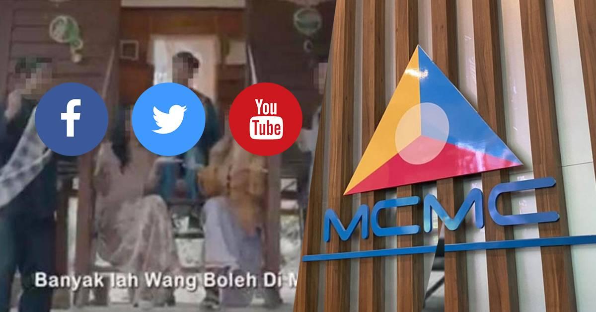 MCMC要求Facebook、Twitter及YouTube配合!下架涉嫌鼓励穆斯林赌博广告!