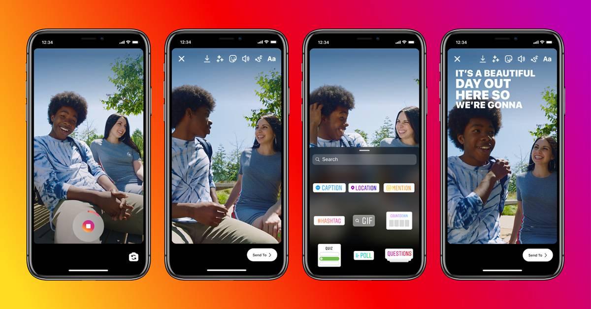 Instagram在部分国家推出自动生成字幕功能!用户无需打开声音也可以看懂内容了!
