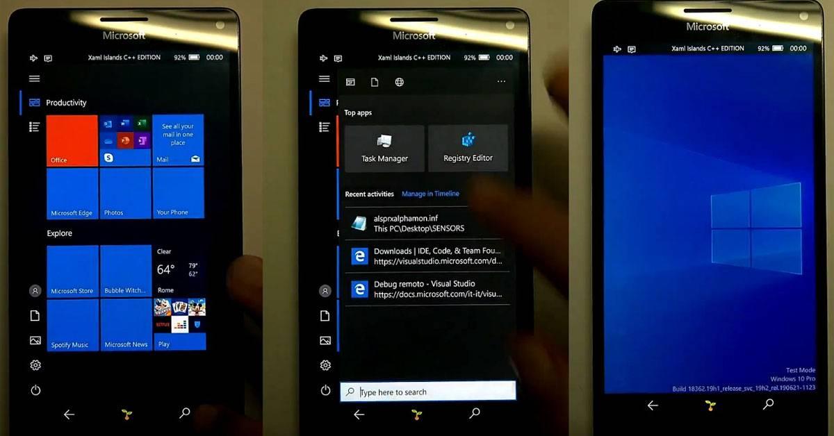 开发者依旧不放弃 Lumia 950 XL 手机!为神机刷入 Windows 11,并成功运行!