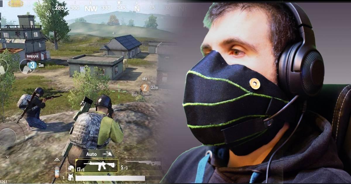 创意游戏隔音面罩可抑制玩家喊叫声!打game不再吵到人!