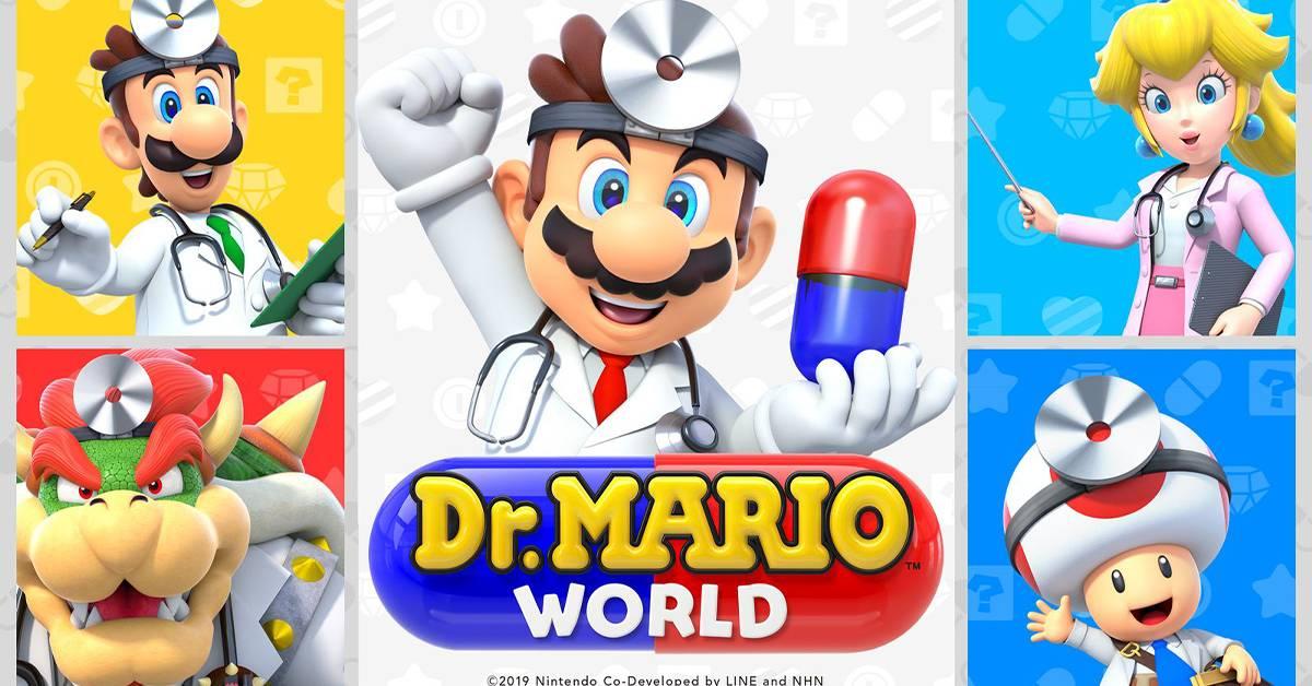 《Dr. Mario World》11月停止运营!Nintendo承诺保存游戏记录让玩家怀缅!
