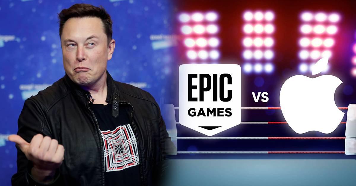 Elon Musk力挺Epic Games!抨击苹果:App Store的佣金实际上就是在抽全球互联网税!