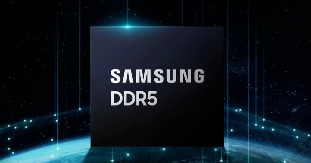 爆Samsung正研发超大内存模组!DDR5 RAM条可搭载容量惊人!