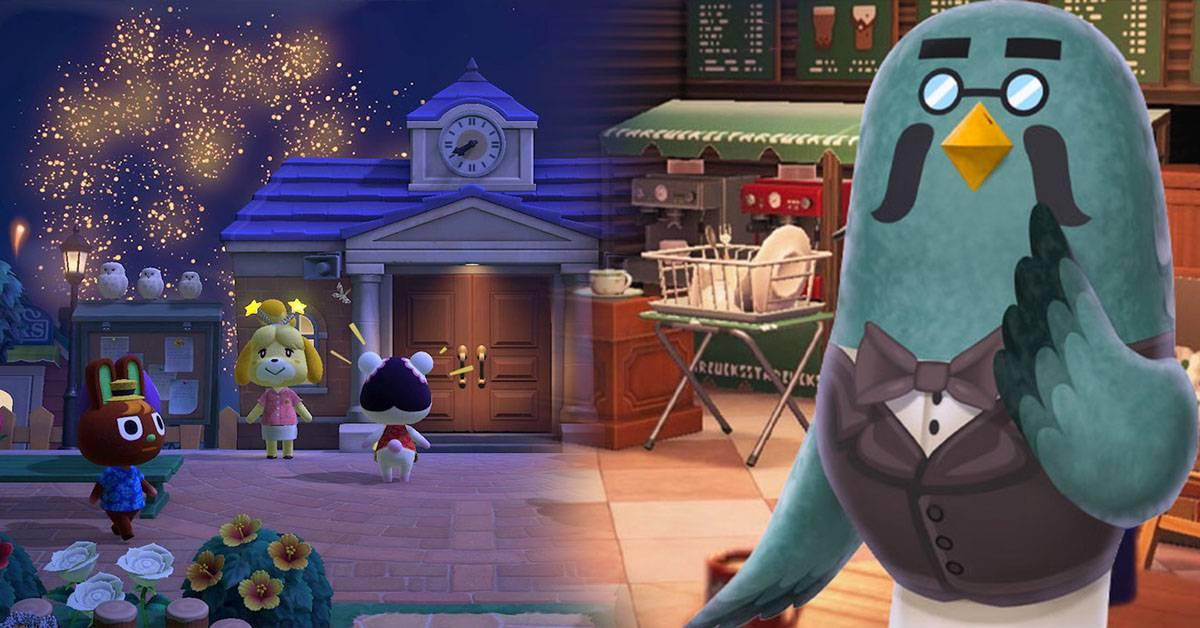 《集合啦!动物森友会》更新补丁暗藏咖啡馆惊喜!官方:每周日晚上可上岛看烟花!
