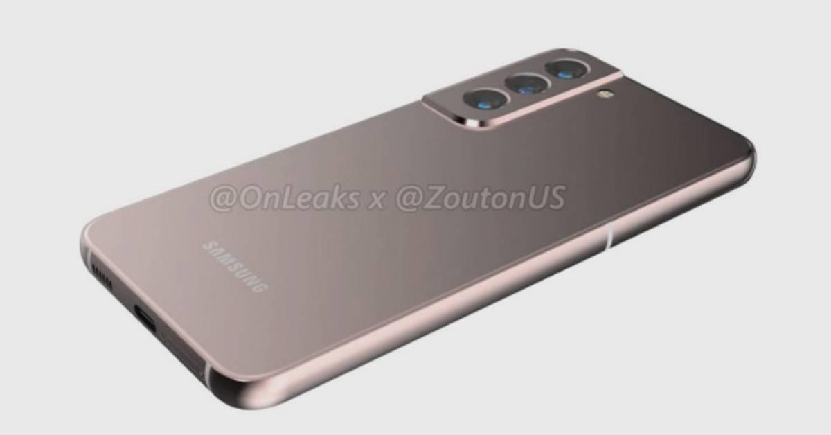 Galaxy S22渲染图亮相!预计2022年初上市!