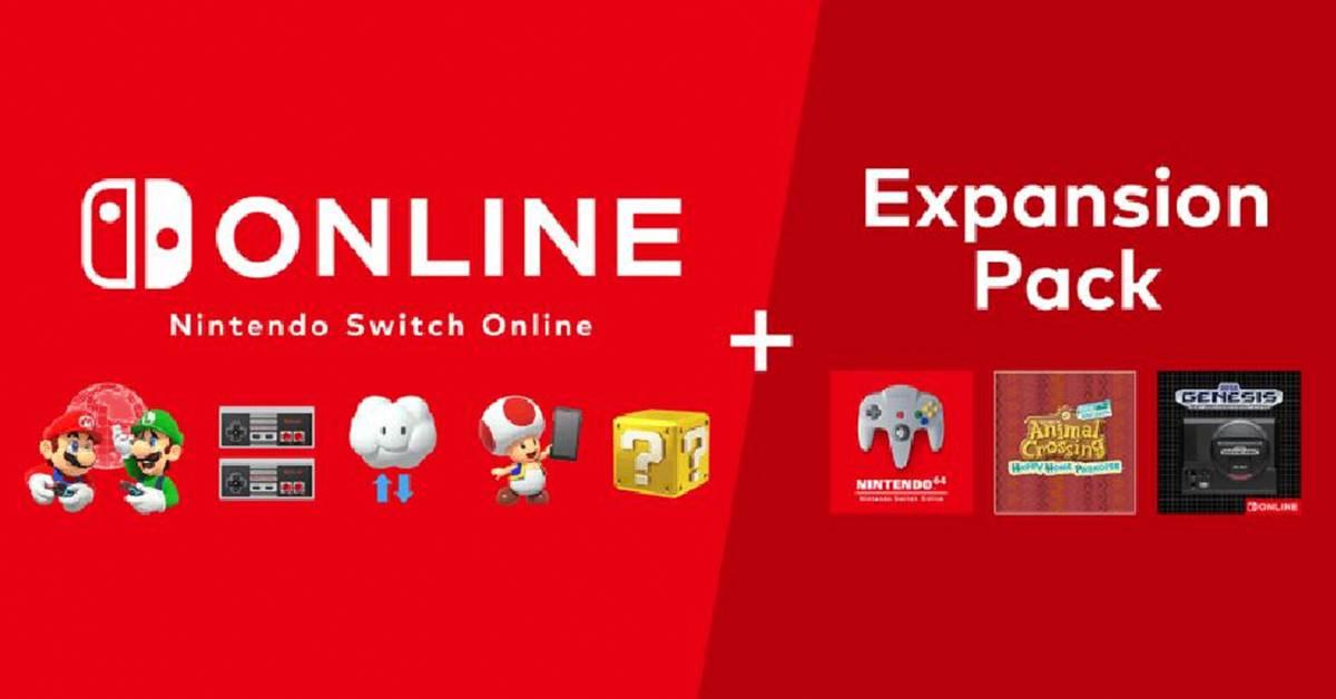 任天堂Switch Online Expansion Pack售价大公开!有望10月内发布!