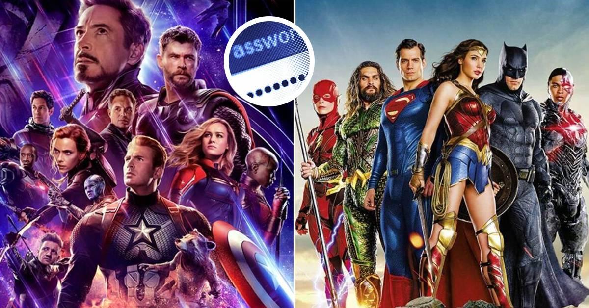 报告:太多用户使用DC/Marvel超级英雄名字作密码!骇客轻而易举就破解到!
