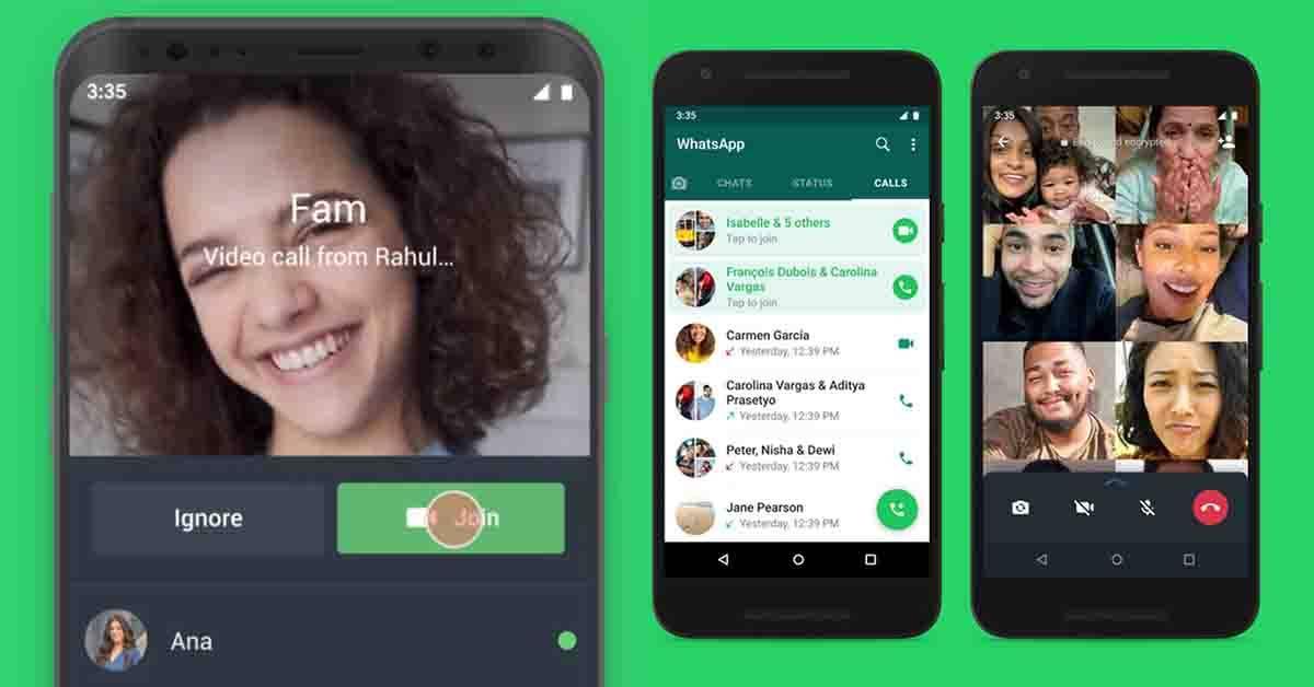 进行中的视频通话怎样Join?WhatsApp更新:中途加入更方便!