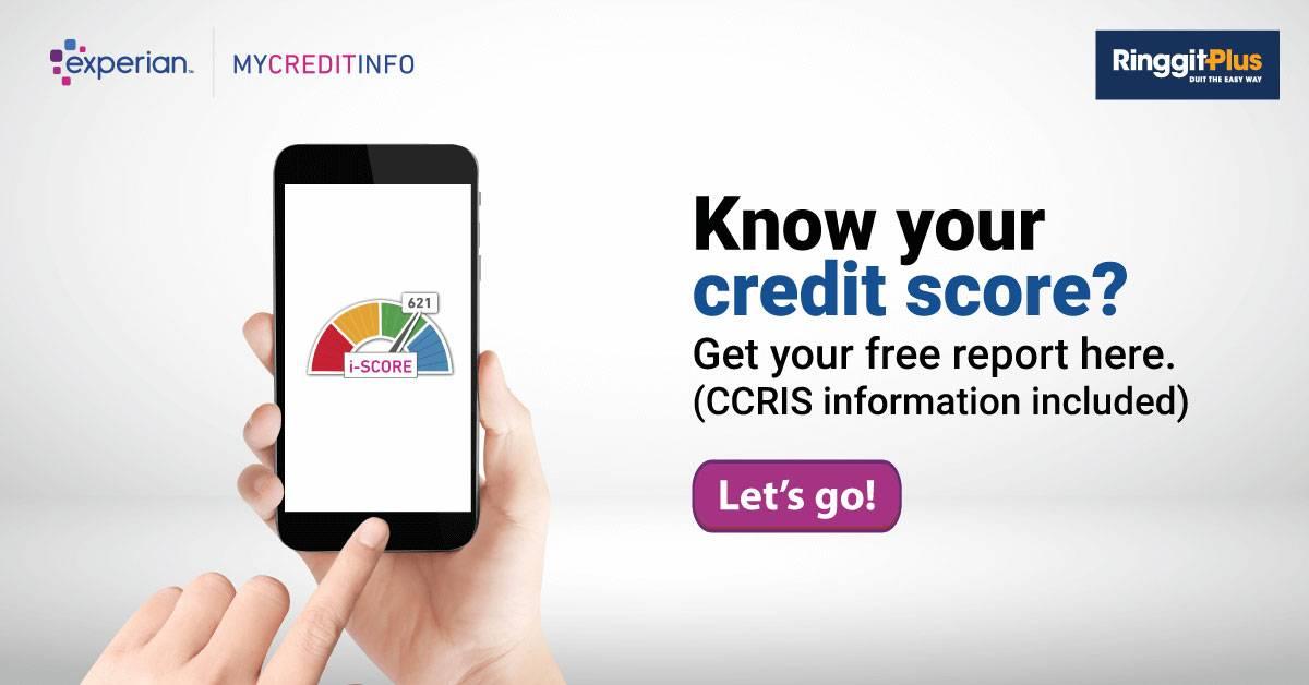 大马国家银行从新开放CCRIS访问!Experian恢复信贷评价服务!