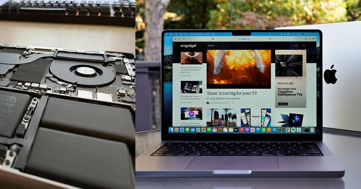 果粉拆机新款MacBook Pro 14/16揭内部结构!电池更换更容易!
