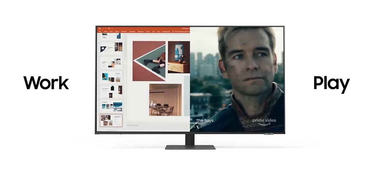 Samsung推全能Smart Monitor!办公、上课、煲剧的好伙伴!