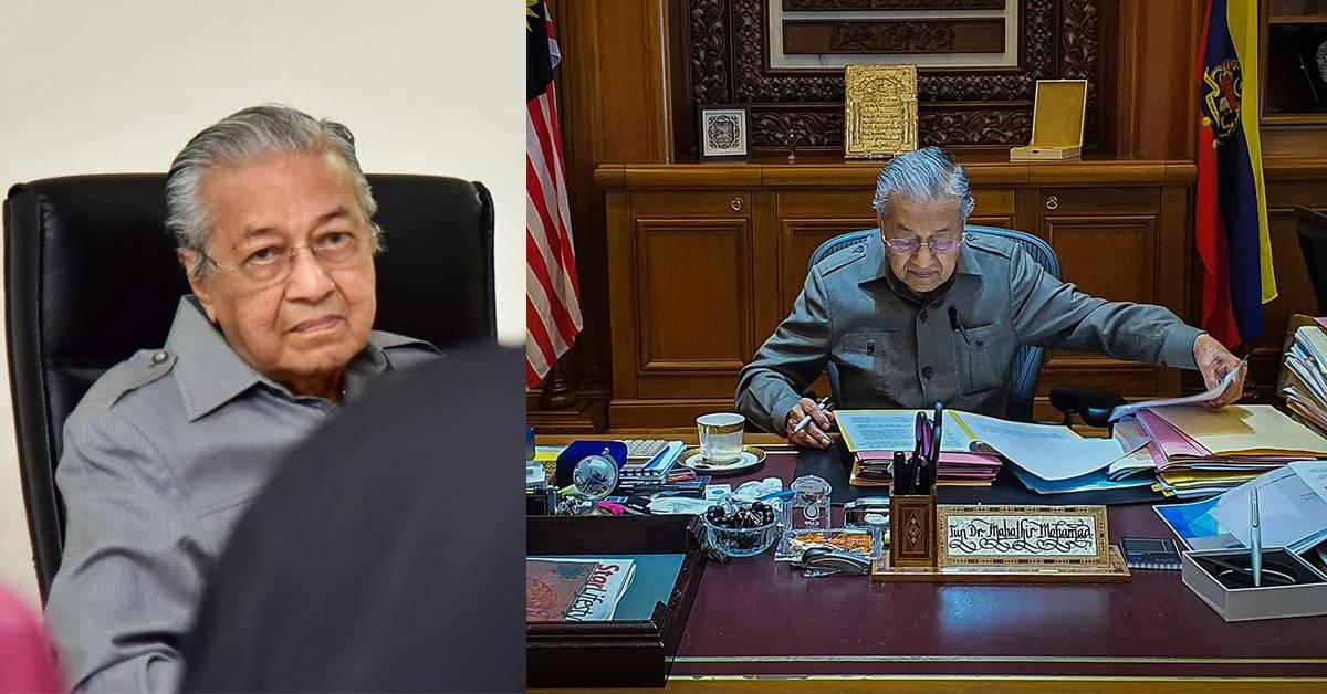 """马哈迪称无意再任相:我已经95岁!""""若还年轻就可以"""""""