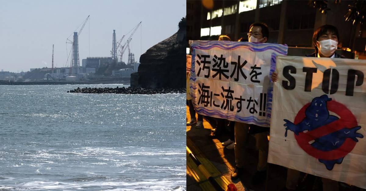 """【日核污水排海】中国斥""""不负责任"""",日韩民众上街抗议!只有美国力挺!"""