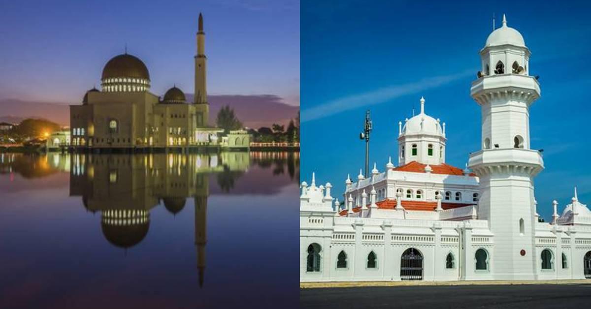 雪兰莪10个必打卡的清真寺!绝美景观媲美国外!