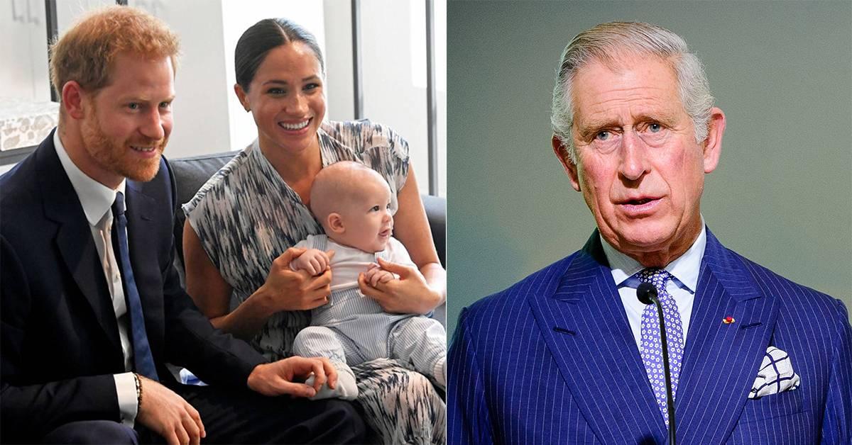 """英媒爆料指查尔斯阿奇当不成王子!哈里夫妇因此才决定""""报复""""王室?!"""