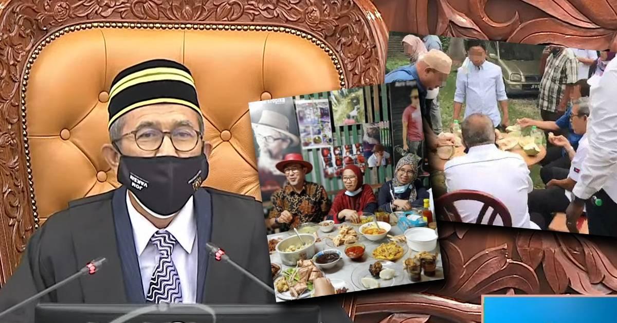 副议长违SOP争议被国会议员嘲讽!网民发现他把口罩戴反了!