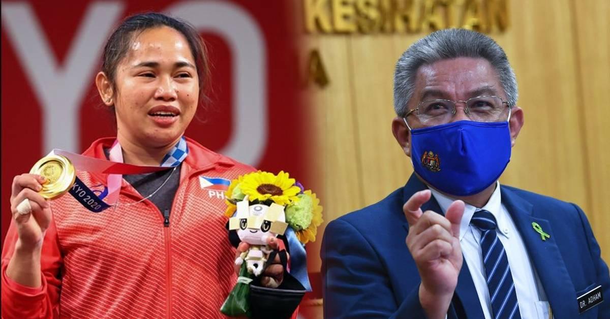 【2020东奥】菲国首夺奥运金牌,大马卫长有份帮忙?!选手赛后受访特别感谢大马人!