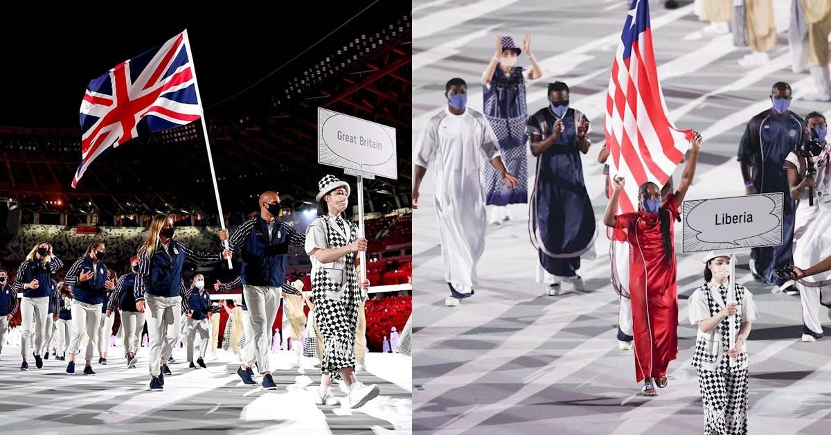 【2020东奥】带你看懂东奥开幕各代表团的服装!全球最贫穷国家之一的服装竟成全场MVP?!