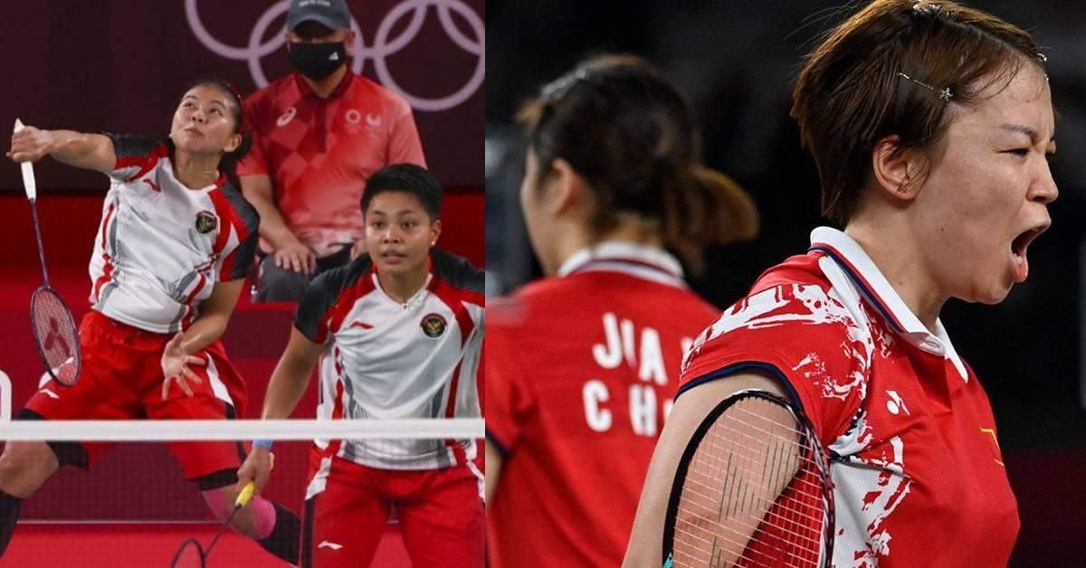 """【2020东奥】战胜中国羽球女双,印尼夺东奥首金!原来我们都误会了""""CAO""""的意思?"""