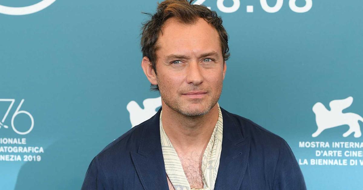 他曾是好莱坞第一代美男!英国演员Jude Law近照被评像老头子!