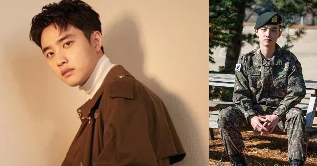EXO成员D.O.结束当兵啦!退伍后他马上投入拍摄新电影!