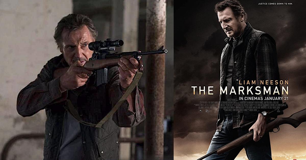 【观后感】 Liam Neeson救援行动不停歇!《The Marksman》发挥不到神枪手威力?!