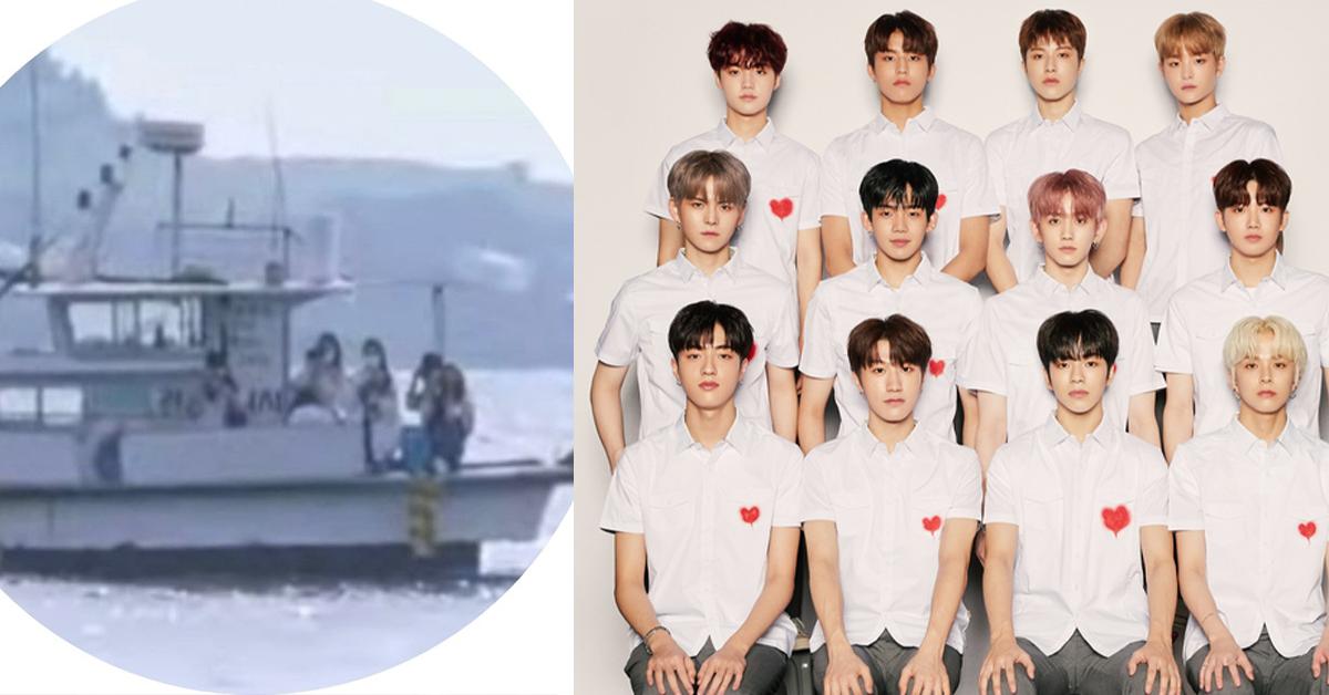 韩男团TREASURE到无人岛拍摄!私生竟租船尾随、跟拍他们!