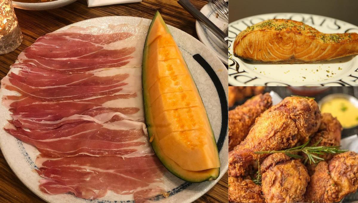 6种一起吃会产生神奇味道的食物!火腿配哈密瓜居然会吃出咸蛋味!