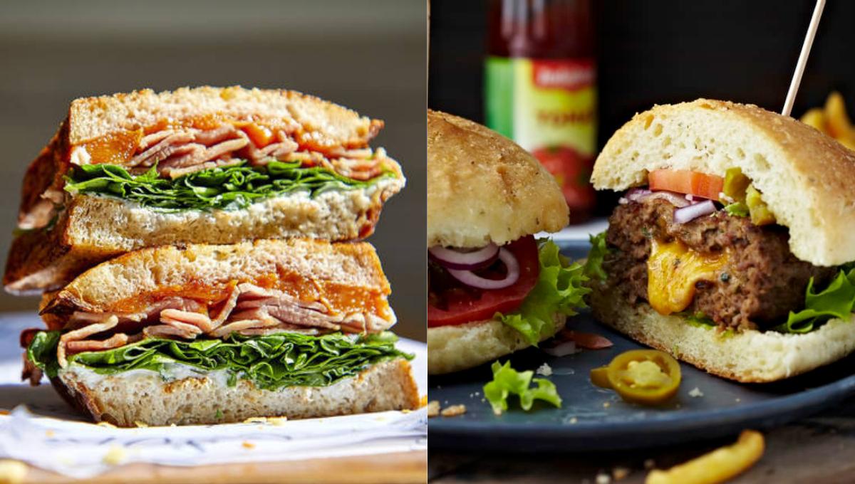 为何三明治和汉堡同样有肉有菜,汉堡却是垃圾食品?秘密藏在这里!