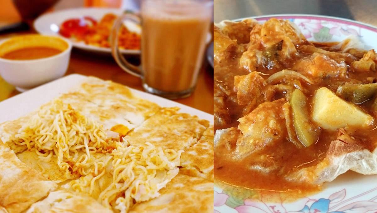 盘点Mamak档Roti的各种隐藏吃法!以后一定要照着清单Order!