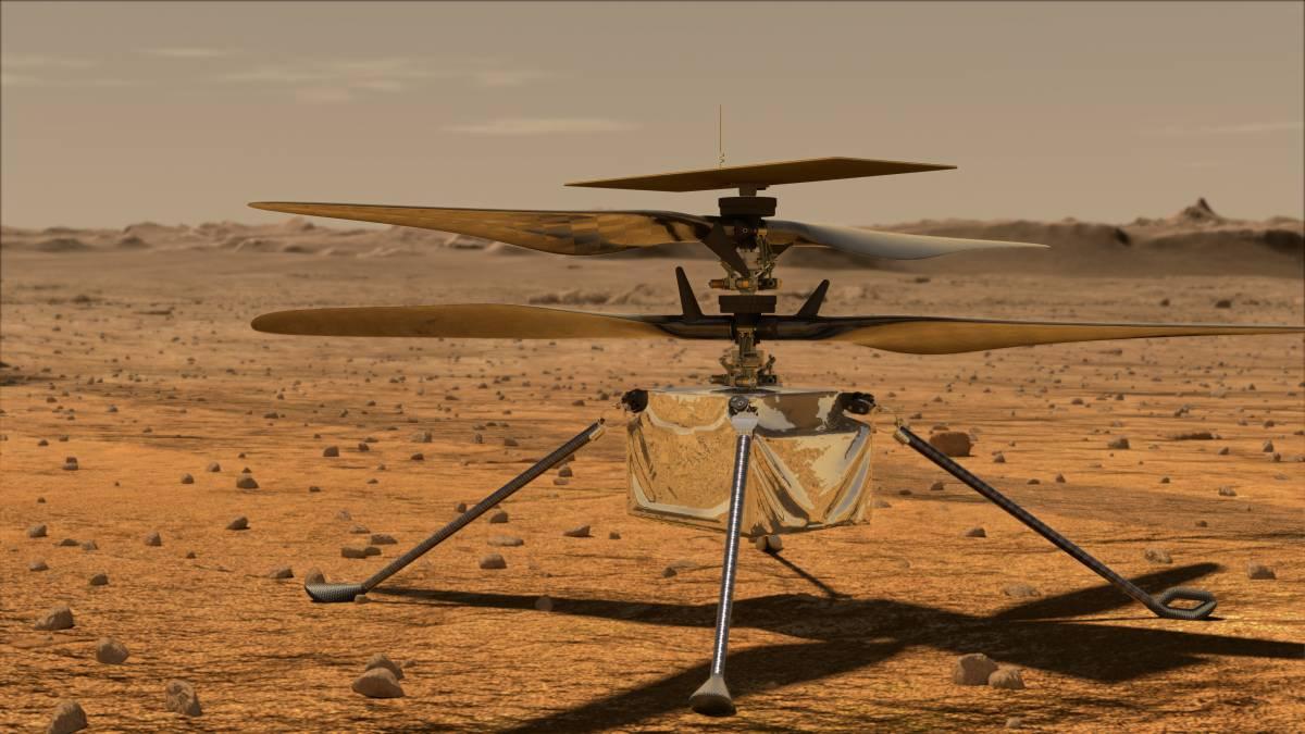 "NASA""创新号""火星直升机首飞宣告成功!预料能获得更多火星数据!"