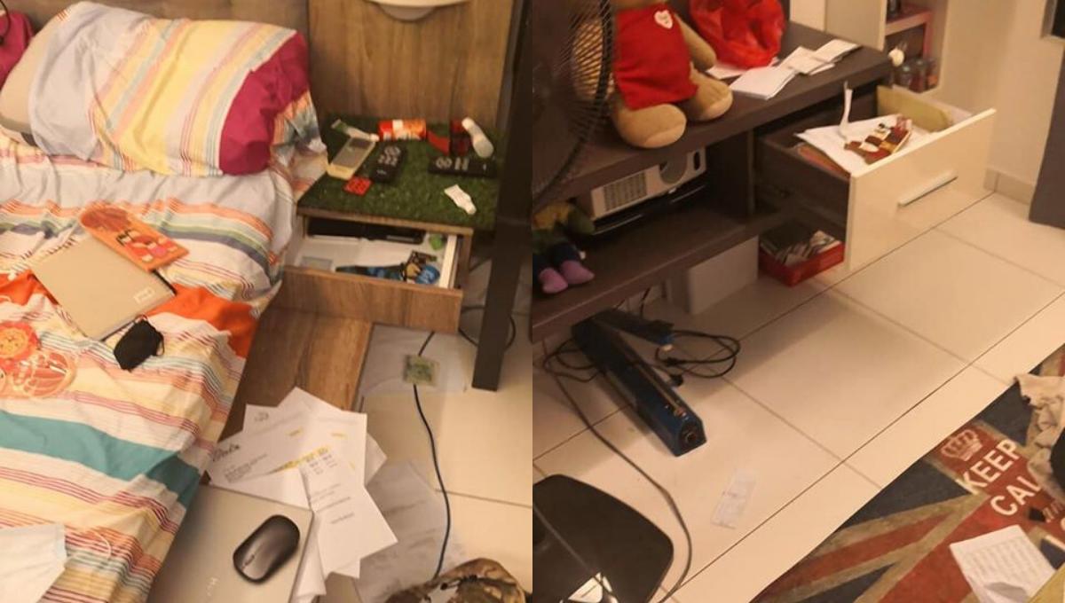 家住公寓18楼以上也被贼入门偷东西!网友:Condo现在也不安全了!