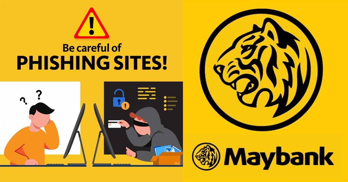 Maybank2u再次出现假网站!Maybank:请勿相信不知名讯息的网站链接!