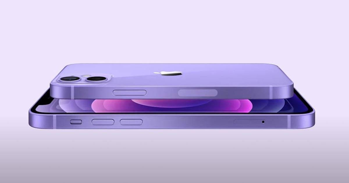 iPhone 12和mini推出全新紫色机型,4月30日正式开售!售价从RM3399起!