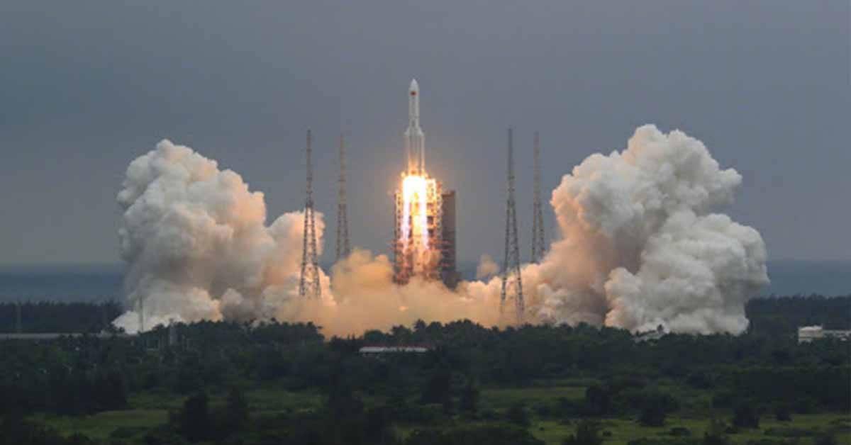 【中国火箭残骸坠落】中国:残骸已坠落在马尔代夫附近的印度洋!