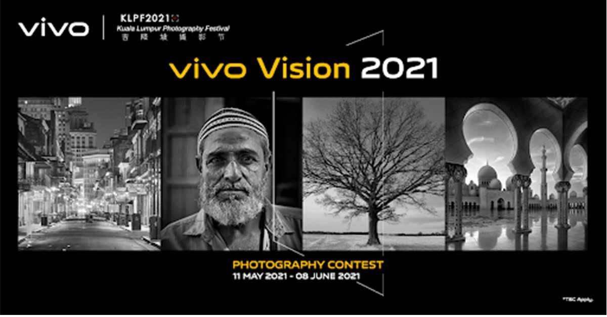 高达15,000令吉奖品等待赢取!即日起至6月8日:vivo Vision 2021摄影大赛开放予12岁以上国人!
