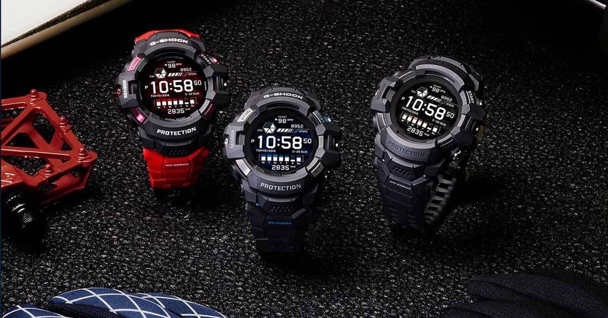 G-Shock G-Squad Pro GSW-H1000大马发布!Casio首个Google Wear OS 手表!