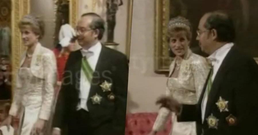 "Bossku的""回忆杀""!网民挖出近30年前影片,纳吉与戴安娜王妃聊天!"