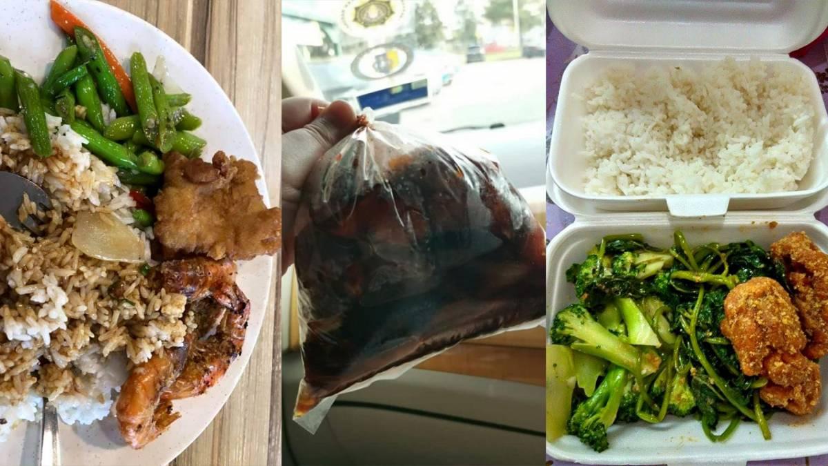 在网上闹得沸沸扬扬的10个杂饭!价钱贵到惊人,2菜1肉要价近RM20!