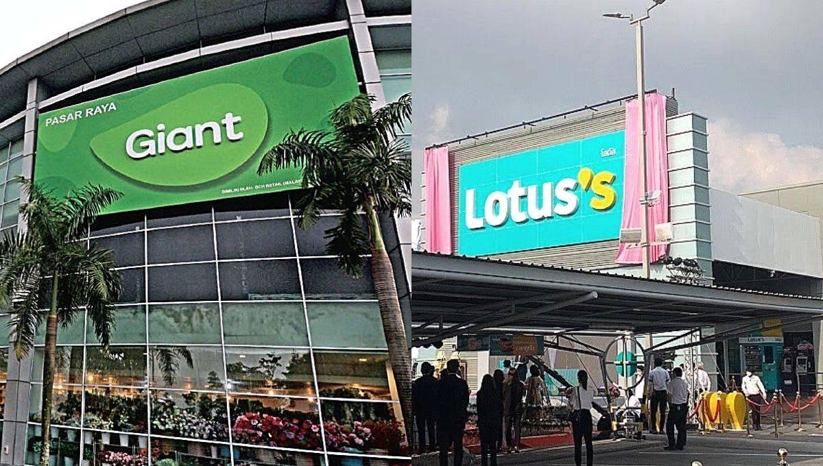 揭大马Lotus's Stores和Giant的6大优势!大马人超爱逛,原来他们是靠这些方式赢尽人心!