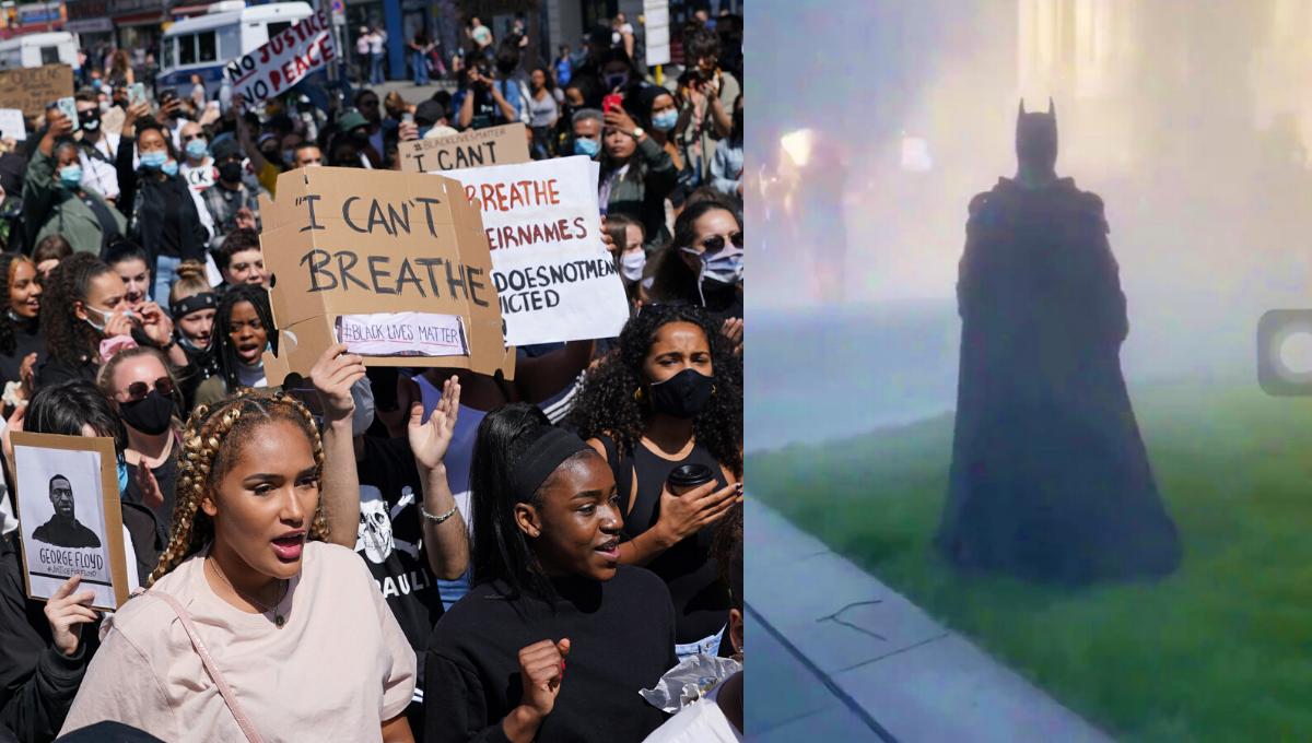 """美国示威暴动创出新潮流!""""蝙蝠侠""""和""""Joker""""都来凑热闹搞抗议!"""