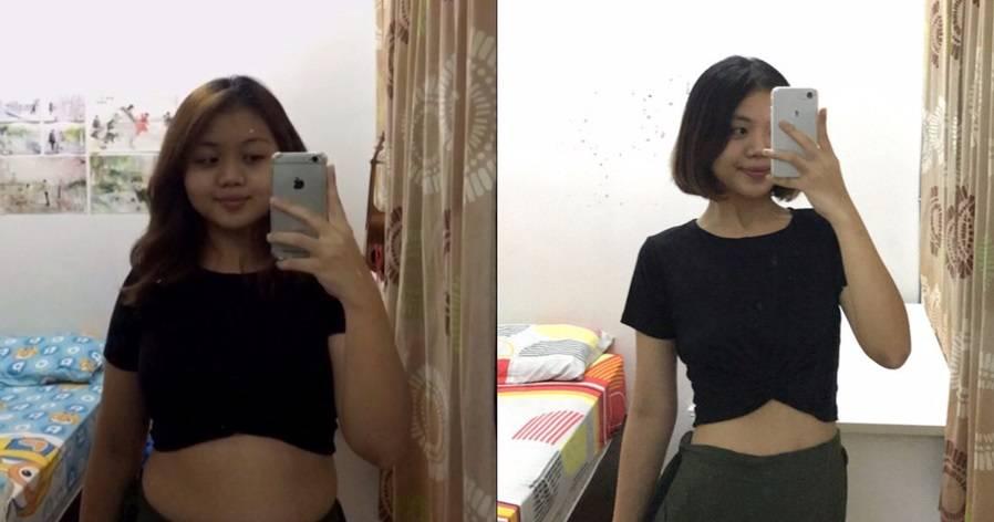 女子减肥前后对比照爆红!高调分享秘诀!