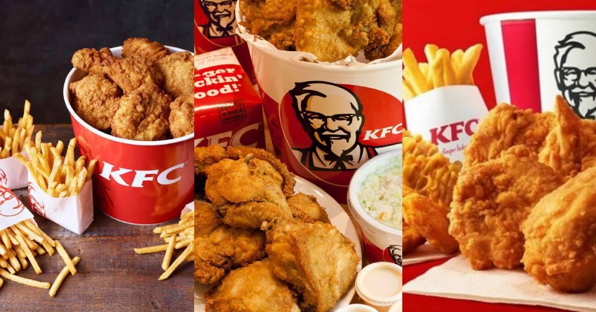 KFC庆祝成立68周年免费送出3份免费套餐!网民:都是假的,千万不要信!